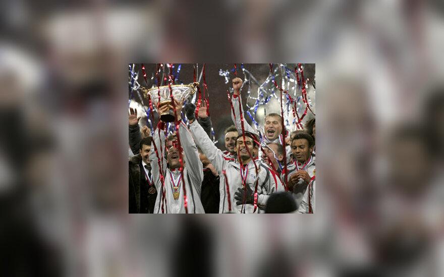 Maskvos CSKA futbolininkai iškovojo Rusijos supertaurę