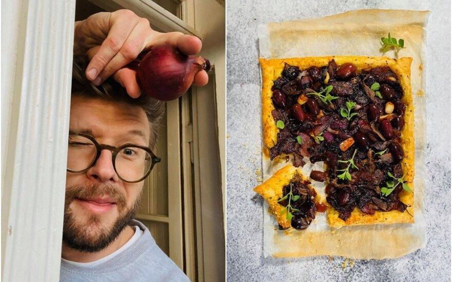 Alfo Ivanausko svogūnų pyragas