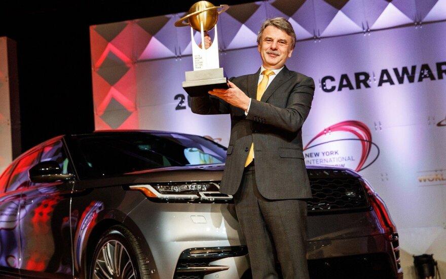 """""""Range Rover Velar"""" – apdovanojimas už grožį"""