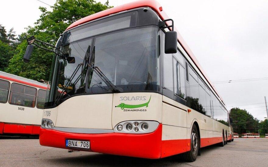 Keistos naujovės Vilniaus viešajame transporte