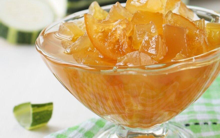 Citrininis cukinijų ir morkų džemas