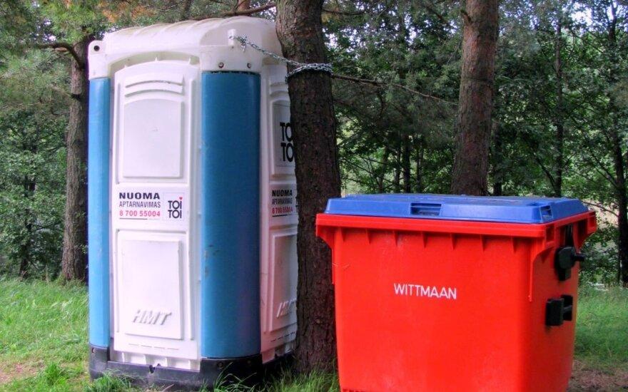 Sučiuptas šiaulietis, viešojo tualeto klozete įmontavęs slaptą kamerą