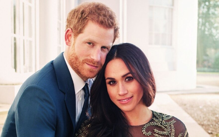 Oficiali Meghan Markle ir princo Harry nuotrauka