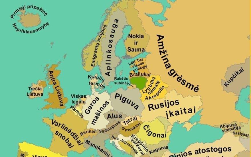 Europa lietuvių akimis