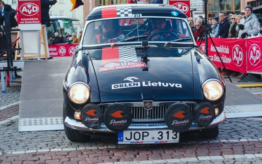 Istorinių automobilių Monte Karlo ralis 2017 m.