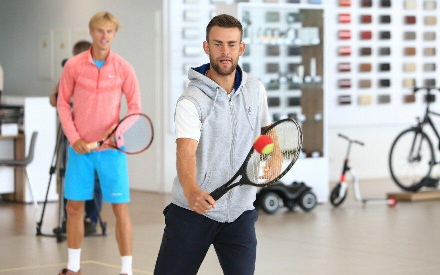 Prezidento taurės turnyras pritraukė 21-os šalies tenisininkus