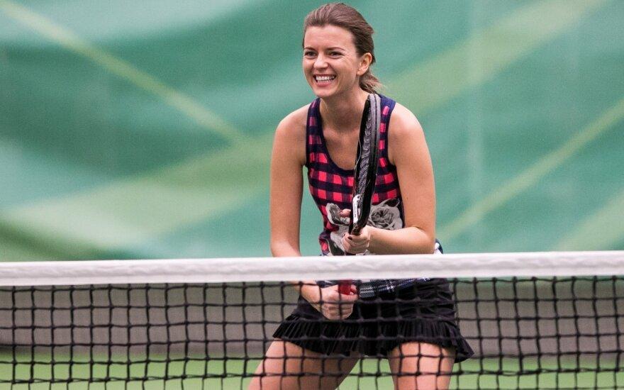 Šaltą pavasarį – karštos teniso kovos DELFI turnyre