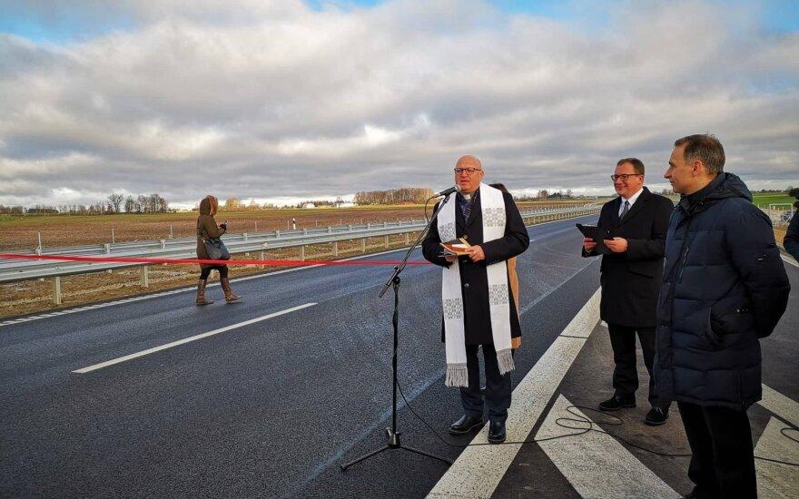 """Antradienį oficialiai atidarytas 156 mln. eurų vertės atnaujintas """"Via Baltica"""""""
