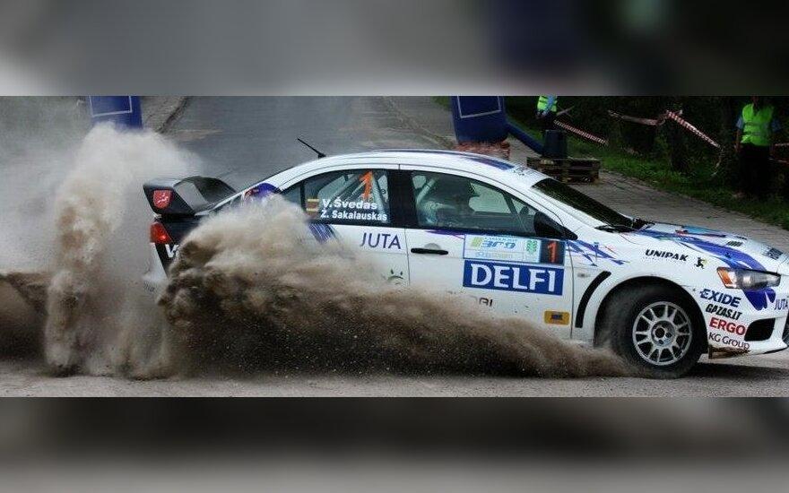 """300 Lakes Rally"" (Dace Janova (4rati.lv) nuotr.)"