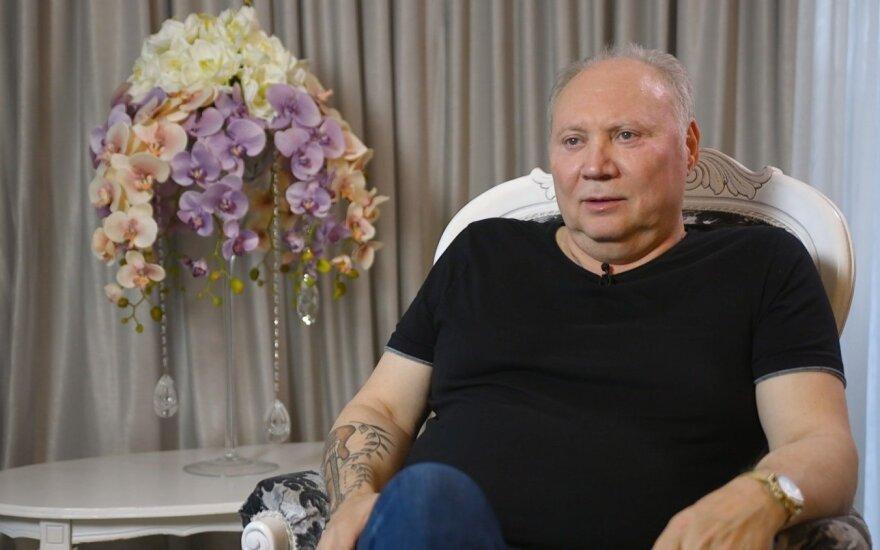 """Aleksandras Ivanauskas-Fara laidoje """"Raudonas kilimas"""""""