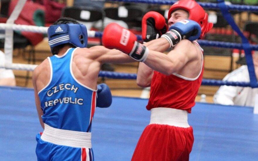 Prasidėjo tarptautinis D. Pozniako vardo bokso turnyras