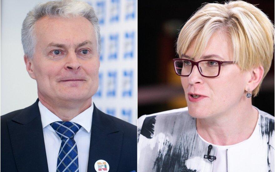 Gitanas Nausėda, Ingrida Šimonytė