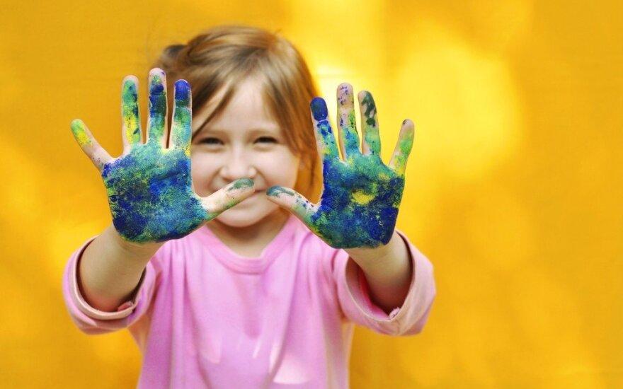 Ar vystote vaiko meninį mąstymą?