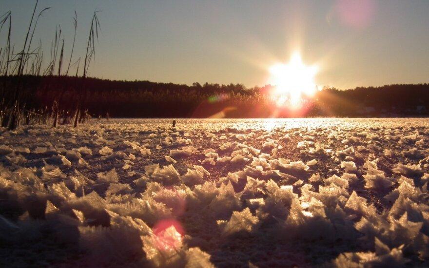 Bijai savaitgalį lipti ant ledo? Dumk į šiaurę!