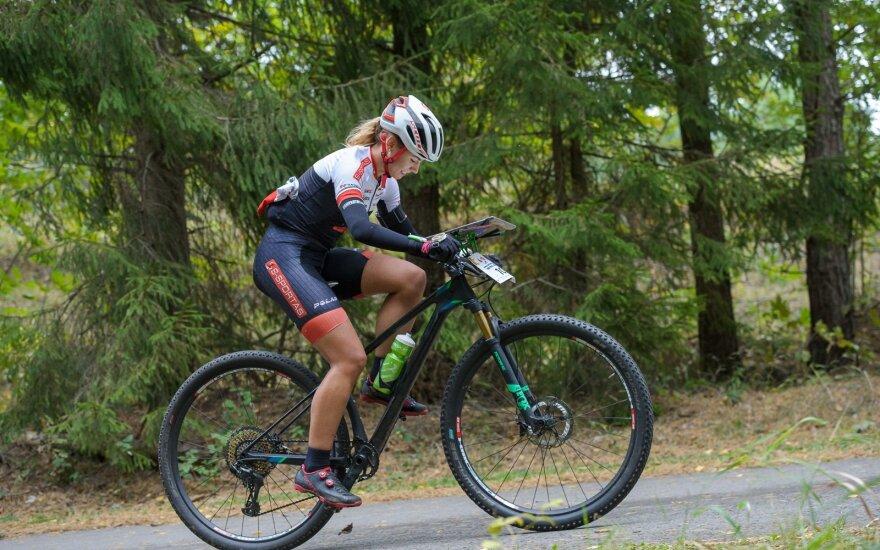 Lietuvos orientavimosi sporto kalnų dviračiais čempionato etapas / FOTO: Donatas Lazauskas/Orienteering.lt.