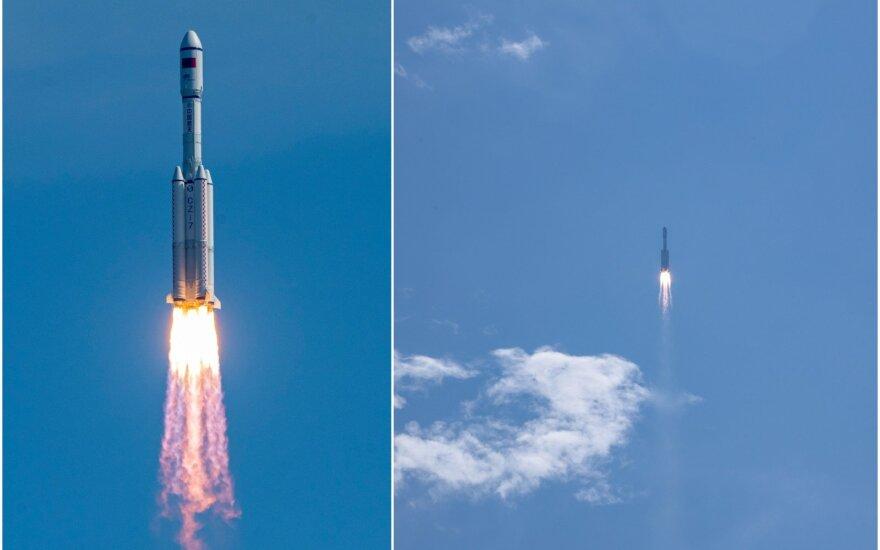 Kinija stato savo kosminę stotį.