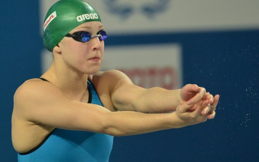 Anykščiuose vyksiančiose Lietuvos plaukimo pirmenybėse dalyvaus ir R.Meilutytė