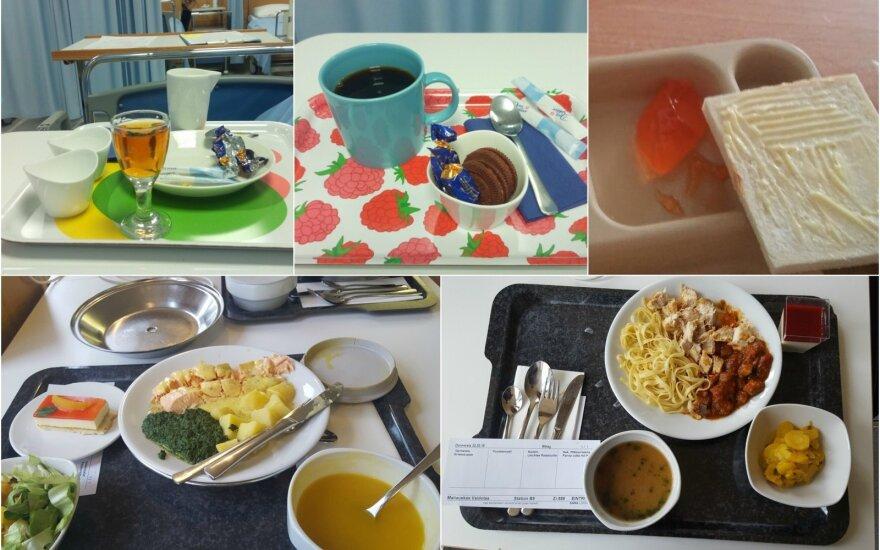 Pasidalino, kuo maitina užsienio ligoninėse – kai kurios porcijos stebina