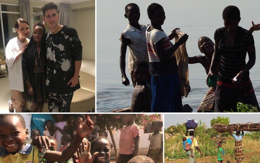 Misijos Malavyje akimirka