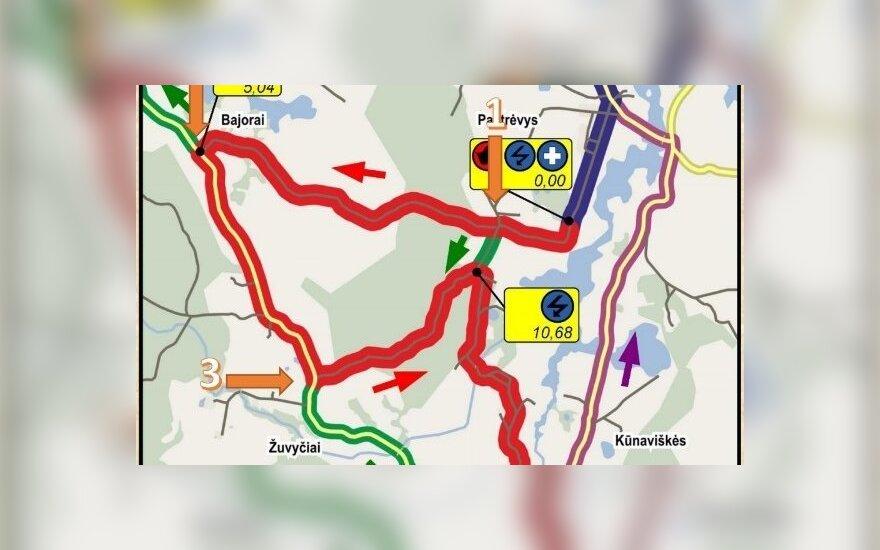 """DHL Rally Elektrėnai 2016"" 1-3 GR"