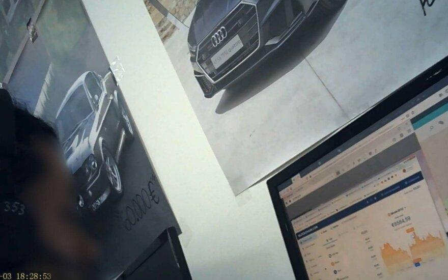 Vaizdas iš Milton Group ofiso (slapta kamera)