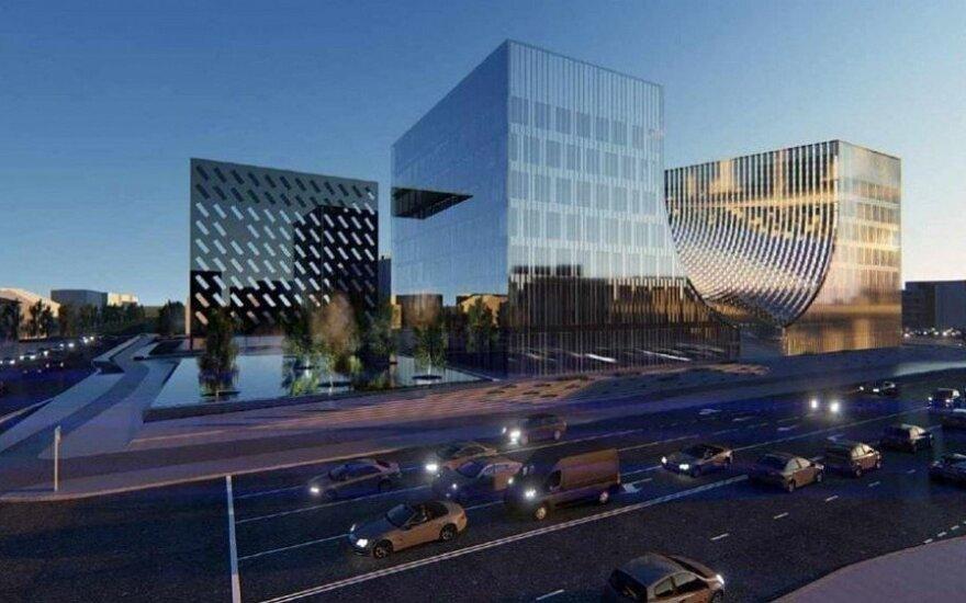 Visuomenei pristatytas naujo teismų pastato projektas: statybai reikės 25–28 mln. eurų