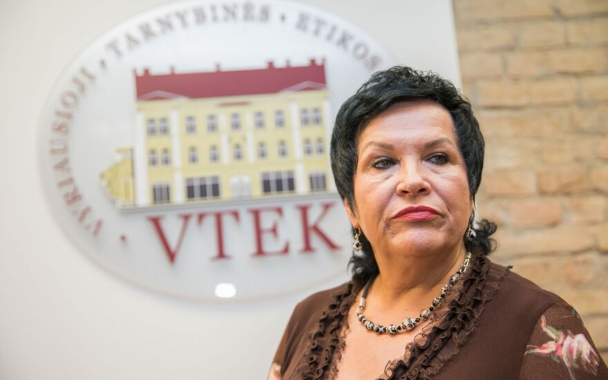 Audronė Pitrėnienė at ethics watchdog