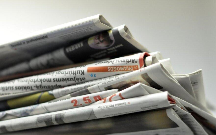 Teismai laikraščiams nebeleis užsidirbti milijonų
