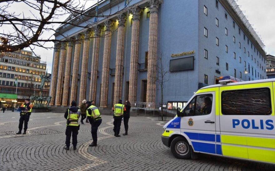 Iš Švedijos vyriausybės biuro pavogta ginklų