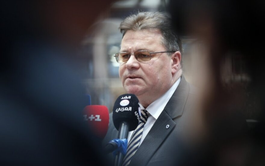 L. Linkevičius: tai labai svarbi žinia visam pasauliui