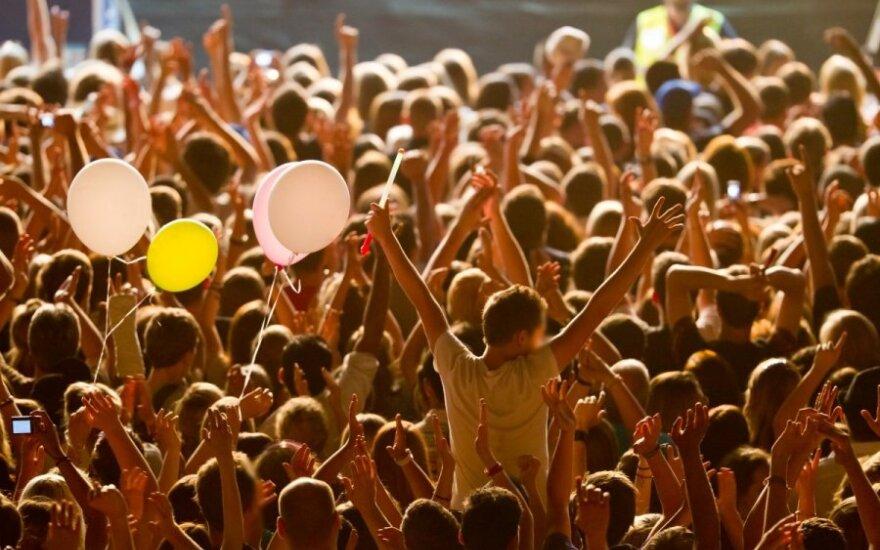 Jaunimas medikams atsiveria festivaliuose