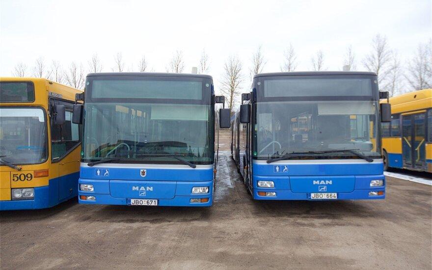 Vilniaus viešojo transporto vairuotojai nepraranda vilties surengti streiką