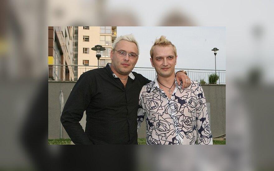 Egmontas Bžeskas ir Ugnius Kiguolis