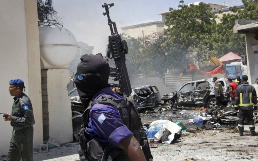 Somalio sostinėje nugiraudėjo sprogimas