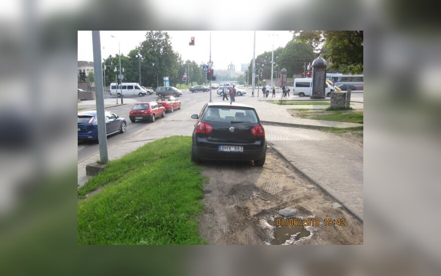 Vilniuje, Žvejų g. 1a. 2010-06-01, 19.42 val.