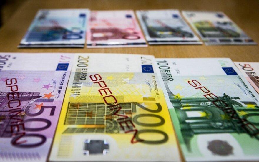Lietuva pradeda oficialias konsultacijas dėl euro įvedimo