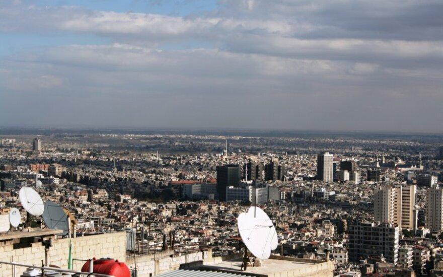 Sirija teigia netoli Damasko numušusi dvi Izraelio raketas