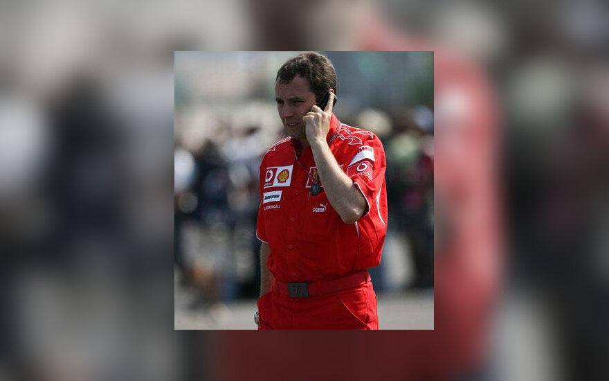 """Stefano Domenicali (""""Ferrari"""")"""
