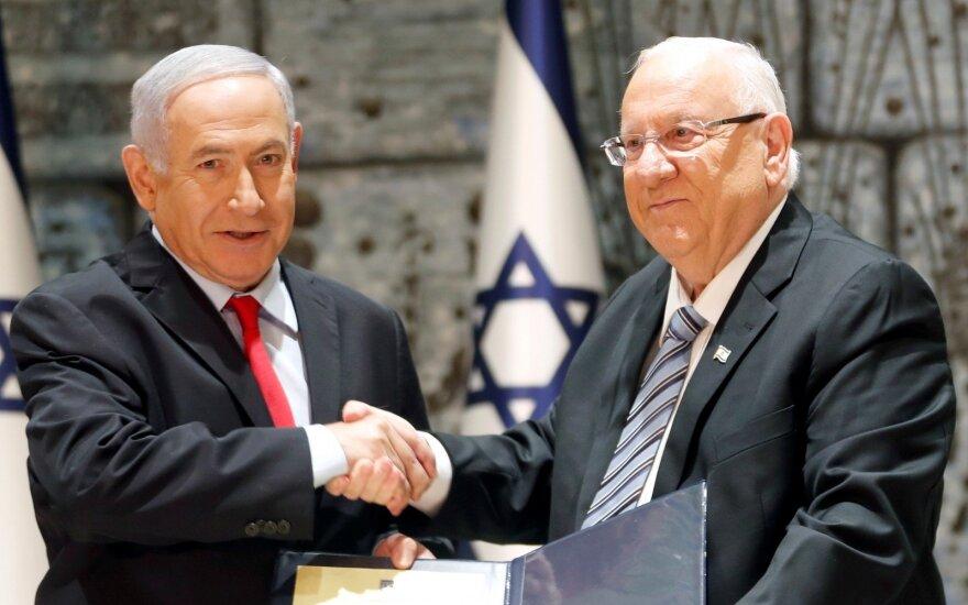 Reuvenas Rivlinas, Benjaminas Netanyahu