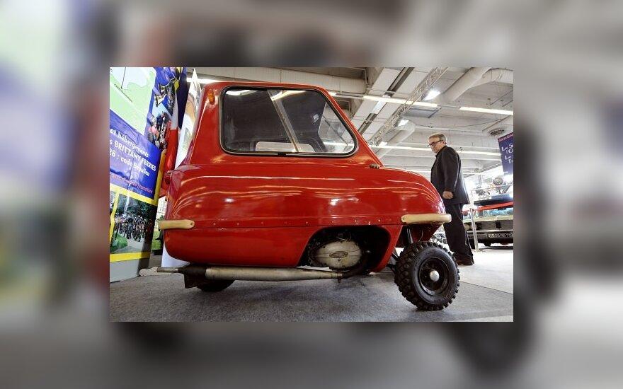 Britanijoje ketinama vėl gaminti mažiausius pasaulyje automobilius