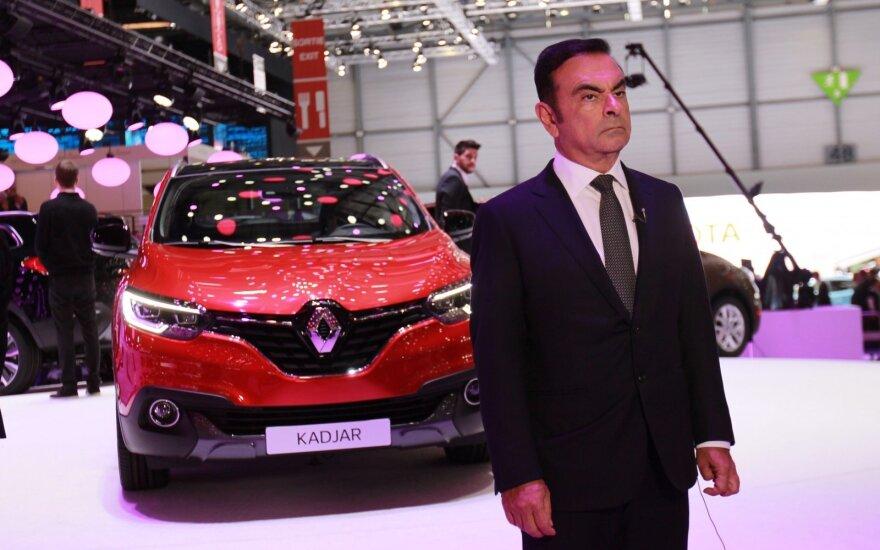 """""""Renault-Nissan"""" aljanso vadovas Carlosas Ghosnas"""