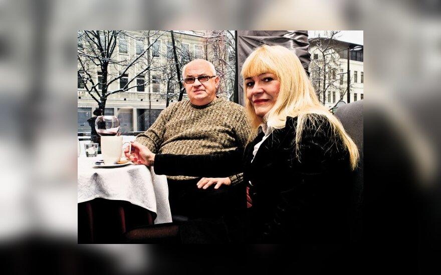 G..Patackas ir T.Marcinkevičiūtė (A.Urbano nuotr.)
