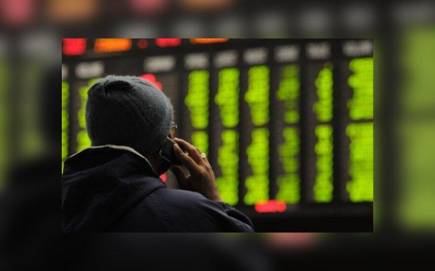 Akcijų rinkos lapkritį pradėjo kilimu