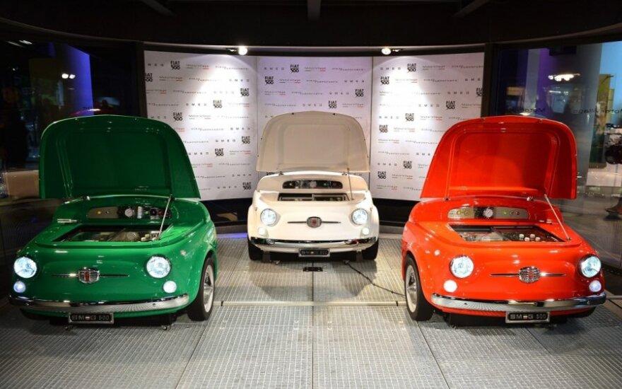 Iš Fiat 500 padarytas šaldytuvas