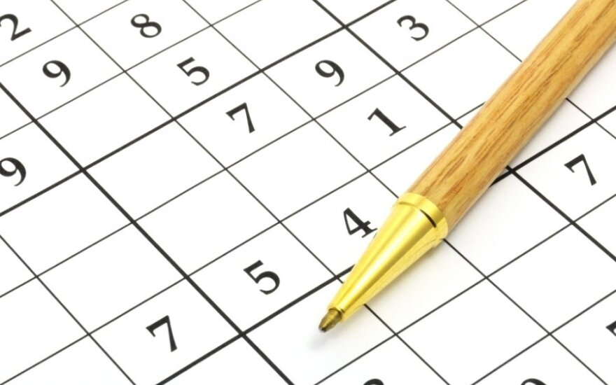 Sudoku galvosūkis