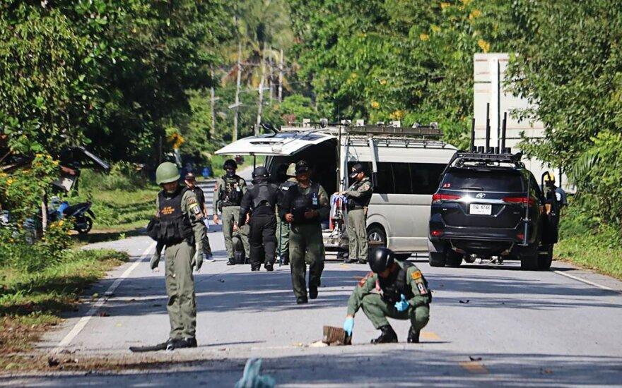 Tailande per numanomą sukilėlių ataką žuvo 15 žmonių