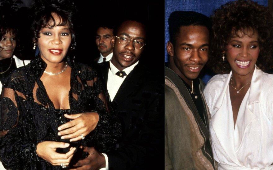 Whitney Houston ir Bobby Brownas