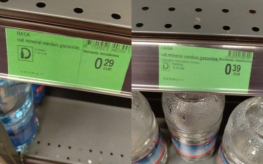 """""""Norfos"""" kainų kaita įsiutino pirkėją"""