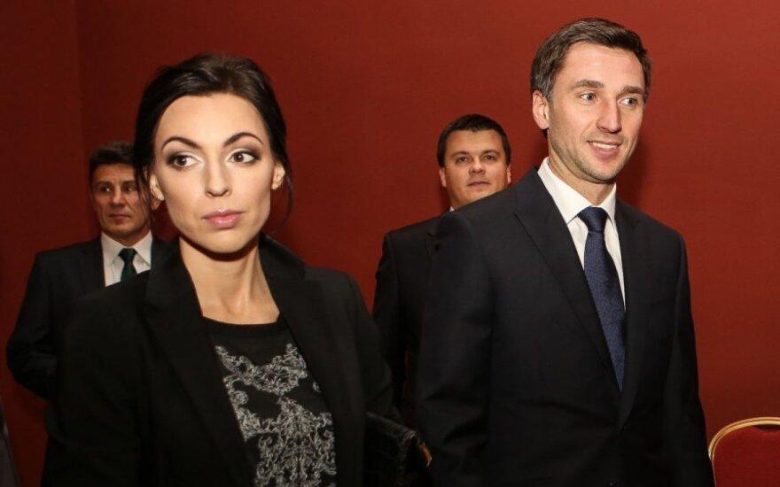 Oksana Zlatkovaitė ir Deividas Šemberas