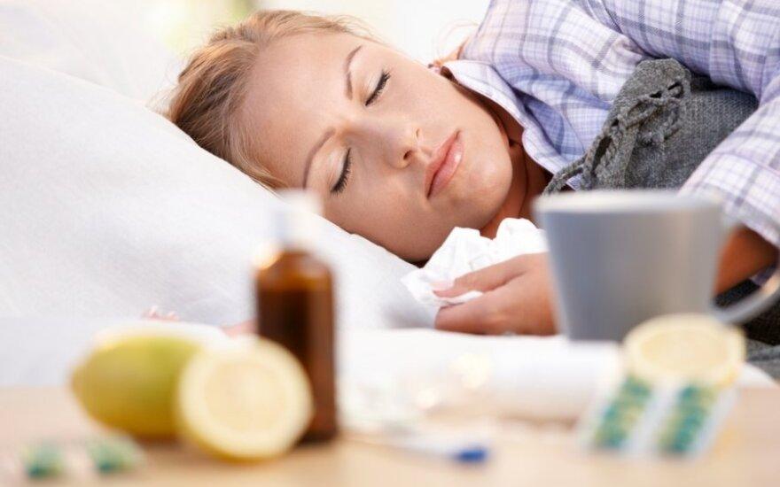 Sergamumas gripu smarkiai išaugo
